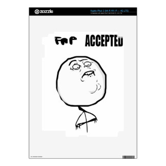 fap accepted decal for iPad 3