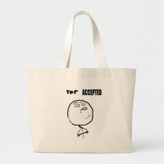 fap accepted large tote bag