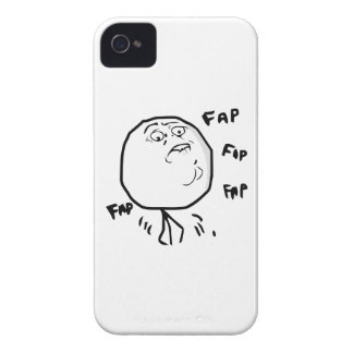 Fap Meme - caja intrépida de Blackberry 9700/9780 Funda Para iPhone 4
