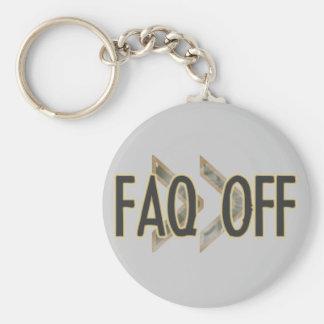 FAQ Off Keychain