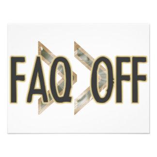 FAQ Off Personalized Invite
