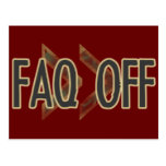 FAQ Off Post Cards