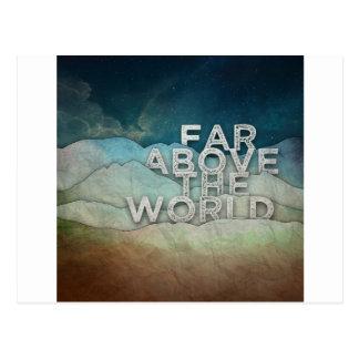 Far Above Postcard