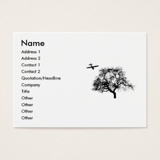 far and away business card