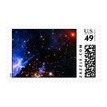 Far Away Galaxy Postage Stamps