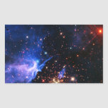 Far Away Galaxy Rectangle Stickers