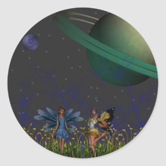 Far Away Pixies Sticker