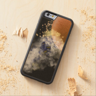Far Away Planet Carved® Maple iPhone 6 Bumper Case