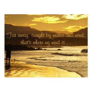 Far away ... post card