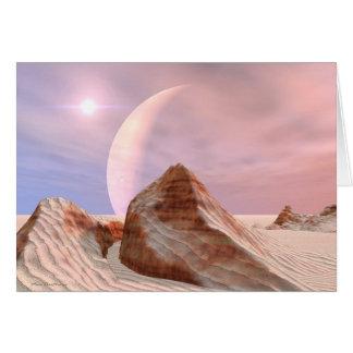 Far Dunes Greeting Card