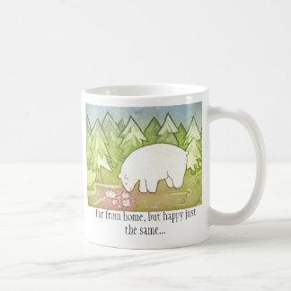 Far from home 1 side. coffee mug