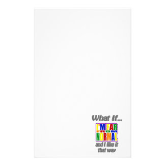 far from normal stationery design