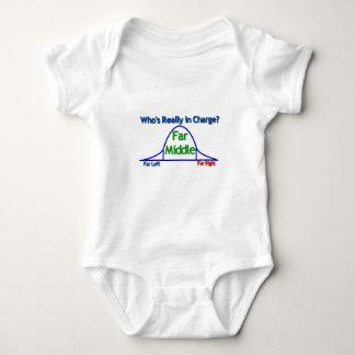 Far Middle Baby Bodysuit