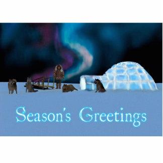 Far North Christmas - Season's Greetings Cutout