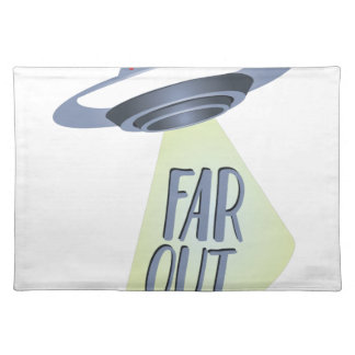 Far Out Cloth Placemat
