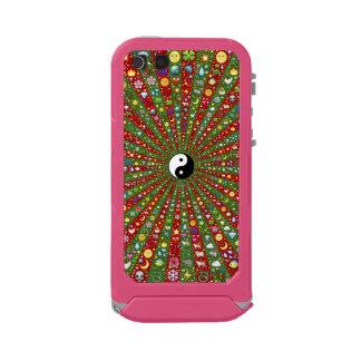 Far Out Hippie Yin Yang Waterproof Case For iPhone SE/5/5s