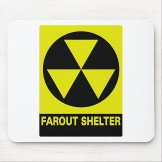 Far-Out Shelter Mouse Pad