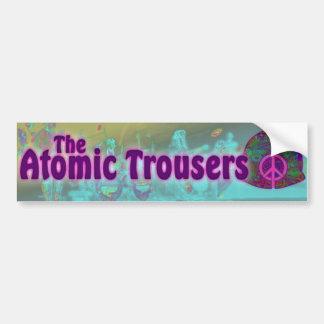 Far-Out Trousers Sticker! Bumper Sticker