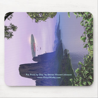 Far Point by Day, Far Point by Day, by Steven V... Mouse Pad
