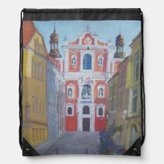 Fara church Poland Cinch Bag