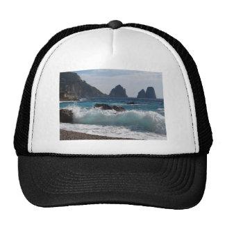 Faraglioni Rock formation on island Capri Trucker Hat