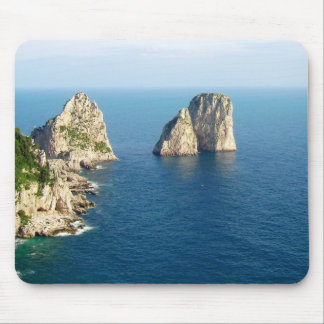 Faraglioni stacks, Capri, Italy Mouse Pad