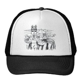 farao com mesa egito antigo trucker hat