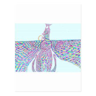 Faravahar separa sus alas postal
