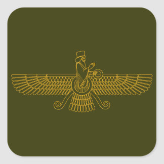 Faravahar Square Sticker