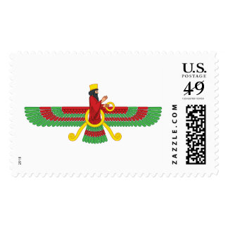 Faravahar Symbol Postage Stamp