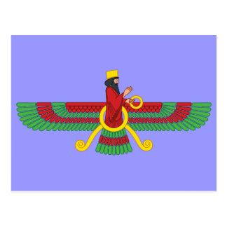 Faravahar Symbol Postcard
