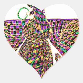 Faravir Psychedelic Heart Sticker