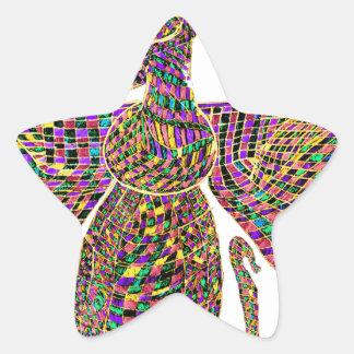 Faravir Psychedelic Star Sticker