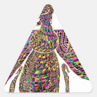 Faravir Psychedelic Triangle Sticker