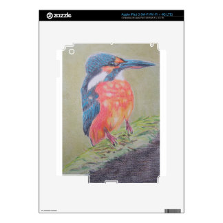 Farbenfroher Eisvogel Decal For iPad 3