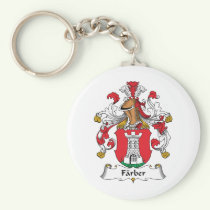 Farber Family Crest Keychain