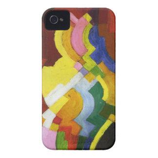 Farbige Formen III by August Macke Case-Mate iPhone 4 Case