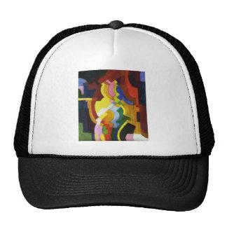Farbige Formen III by August Macke Trucker Hat