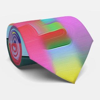 farbige Rechtecke colorful rectangles Neck Tie
