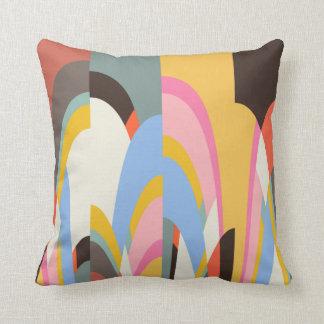 Farbiges Muster Gewölbt Pillow