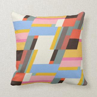 Farbiges Muster kleinteilig Pillow