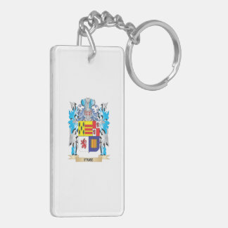 Fare Coat of Arms - Family Crest Rectangular Acrylic Key Chains