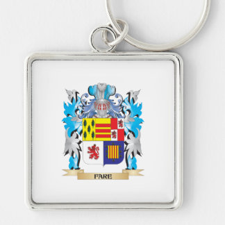 Fare Coat of Arms - Family Crest Keychains