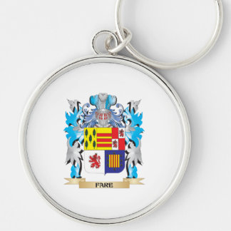 Fare Coat of Arms - Family Crest Key Chains