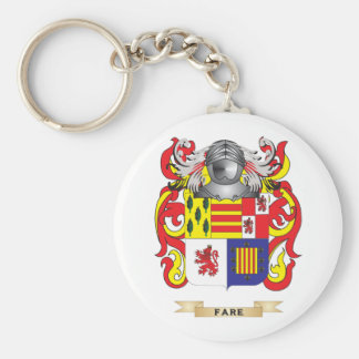 Fare Coat of Arms Key Chain