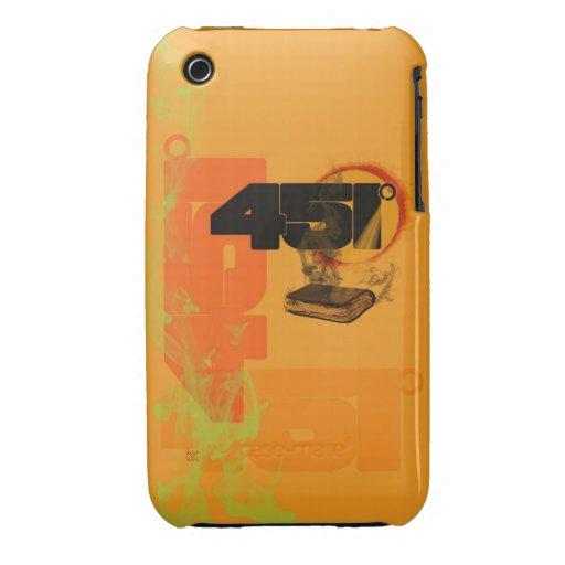 farenheit 451 iPhone 3 Case-Mate case