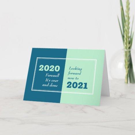 FAREWELL 2020 | Looking Forward | New Year | 2021 Holiday Card