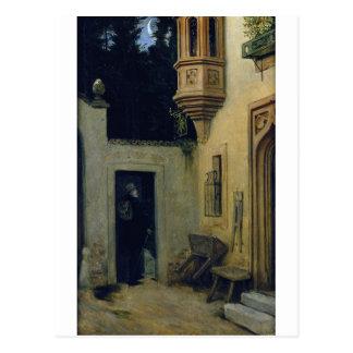 Farewell at Dawn 1859 by Moritz von Schwind Postcard