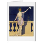 Farewell at Night, design for an evening dress by Card