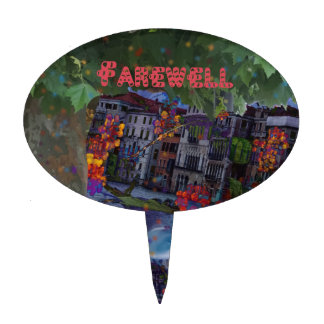 Farewell Cake Toppers | Zazzle